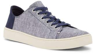 Toms Lenox Navy Slub Chambray Sneaker