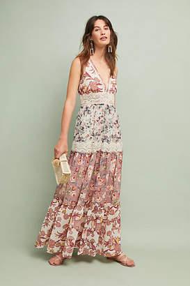 Ranna Gill Cabaret Floral Maxi Dress