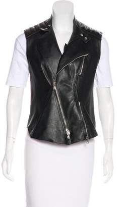 3.1 Phillip Lim Asymmetrical Leather Vest
