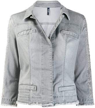 Liu Jo frayed edge denim jacket