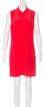 Equipment Printed Sleeveless Dress