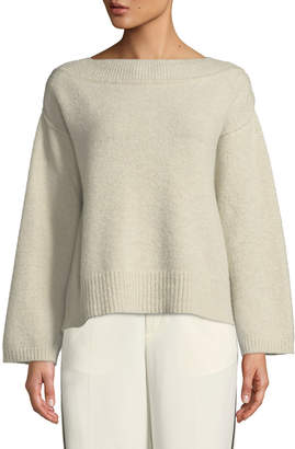 Forte Forte Boat-Neck Wool Pullover Sweater