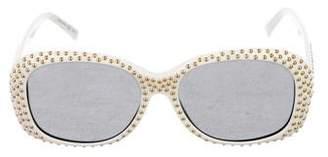 Saint Laurent Studded Tinted Sunglasses