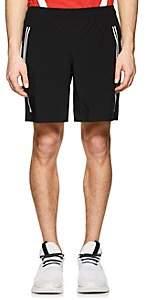 BLACKBARRETT Men's Striped Gym Shorts - Black