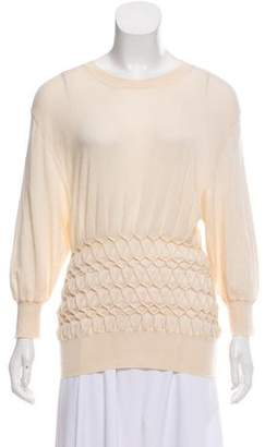 Louis Vuitton Gathered Cashmere Sweater