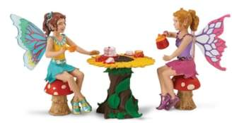 Safari Ltd. Tea Party Fairy Figurines