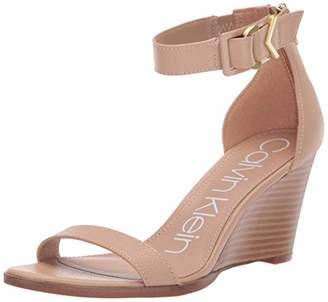 Calvin Klein Women's Wilhelmina Wedge Sandal