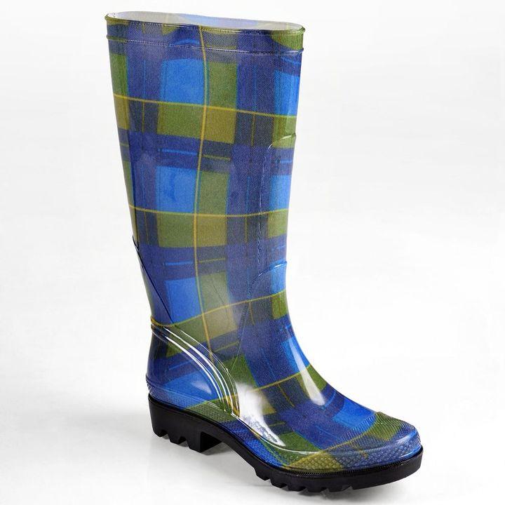 Journee Collection tall rain boots - women