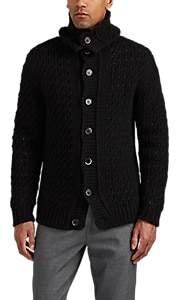 Barena Venezia Men's Virgin Wool-Blend Cardigan - Black