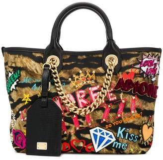 Dolce & Gabbana patchwork tote bag