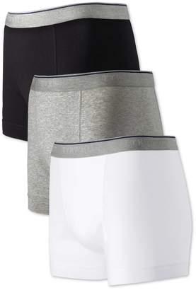 Charles Tyrwhitt White Multi Jersey 3 Pack Trunks Size XL