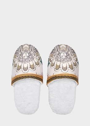 Versace Les Étoiles de la Mer Bath Slippers