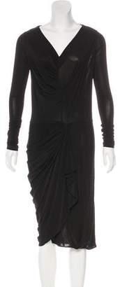 AllSaints Midi Sheath Dress