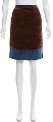 Aquilano Rimondi Aquilano.Rimondi Chenille-Accented Colorblock Skirt