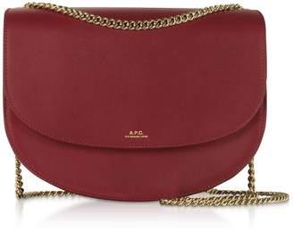 A.P.C. Genuine Leather Zurich Shoulder Bag