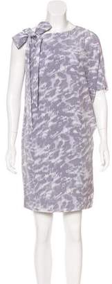 MICHAEL Michael Kors Silk Printed Dress