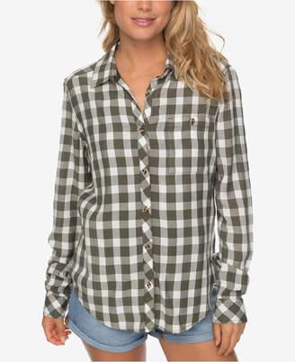 Roxy Juniors' Plaid Shirt