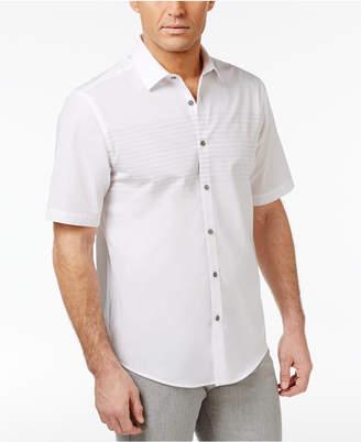Alfani Men's Stripe Cotton Shirt, Created for Macy's