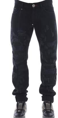Philipp Plein Distressed Jeans