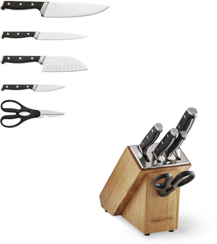 Calphalon Calphalon Classic Sharn IN 6-Piece Knife Block Set