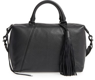Rebecca Minkoff Isobel Leather Satchel - Black $345 thestylecure.com