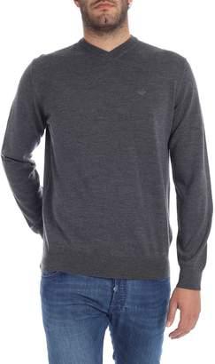 Emporio Armani V Neck Sweater