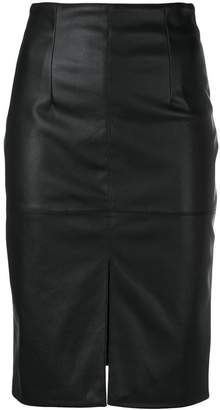 Twin-Set front slit pencil skirt