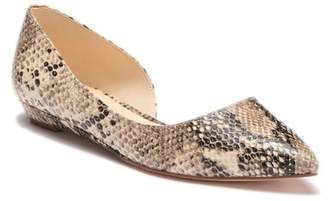 Nine West Saige Half d'Orsay Flat - Wide Width Available