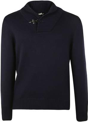 Fay Lobster Fastening Detail Sweater
