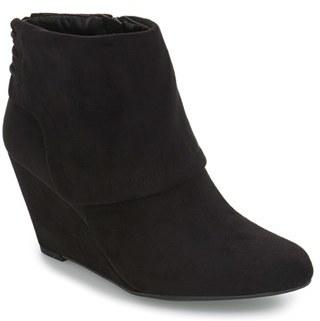 Jessica Simpson 'Reaca' Cuffed Wedge Bootie (Women) $98.95 thestylecure.com