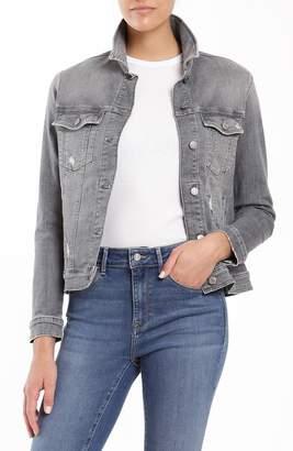Mavi Jeans Katy Mid Grey Tribeca Denim Jacket