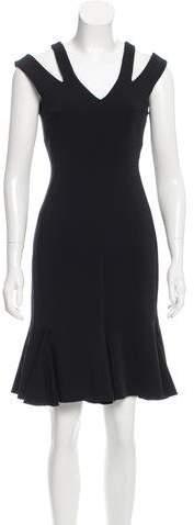 Josh Goot Sleeveless Ruffled Dress