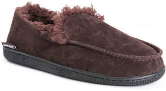 Muk Luks Faux Suede Moccasin Slipper - Men's