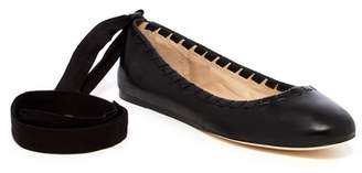 Via Spiga Baylie Leather Flat