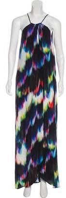 Trina Turk Overlay Silk Dress