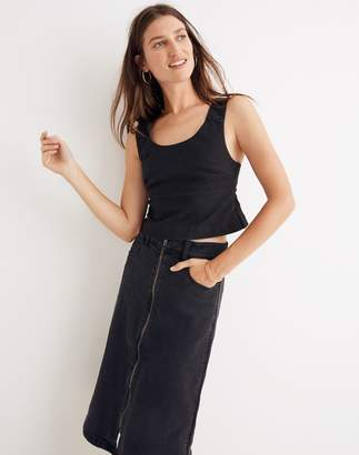Madewell Structured Crop Top