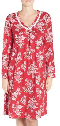 Carole Hochman Print Knit Sleepshirt $65 thestylecure.com