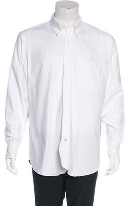 Black Fleece 2015 Colorblock Button-Up Shirt