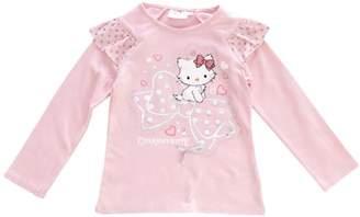 SANRIO Charmmy Kitty H11F1055 Long Sleeve Girl's T-Shirt
