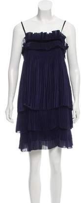 Diane von Furstenberg Jules Pleated Mini Dress w/ Tags