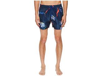 Paul Smith Floral Classic Swimsuit Men's Swimsuits One Piece