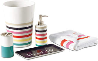 Kate Spade Candy Stripe Bath Collection