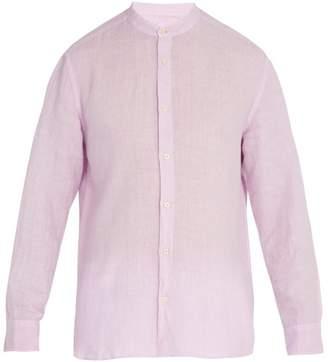 120% Lino Long-sleeved linen shirt