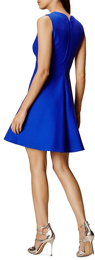 KAREN MILLEN Seamed Skater Dress 2