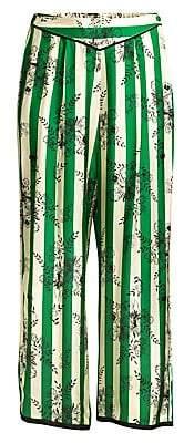Morgan Lane Women's Ines Striped Floral Pajama Pants