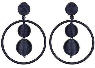 Oscar de la Renta Bauble drop earrings