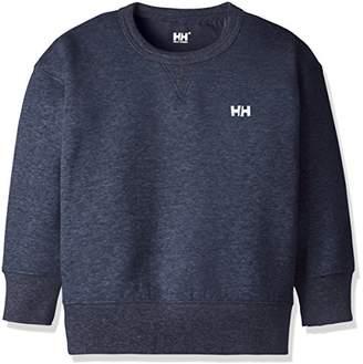 Helly Hansen (ヘリー ハンセン) - (ヘリーハンセン)HELLY HANSEN(ヘリーハンセン) ロングスリーブビッグクルー(キッズ) HOJ31792 [ジュニア] HOJ31792 ZH ミックスへリーブルー 130