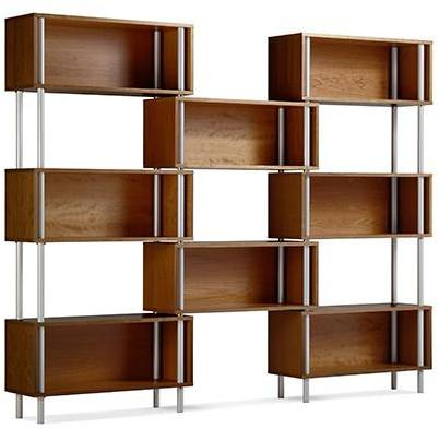 Blu Dot Blu Dot Chicago 8 Box Shelving Unit