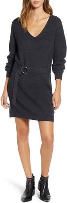 BP Belted Sweater Dress