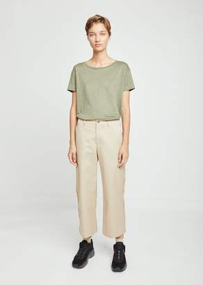 Acne Studios Relaxed Cotton Cropped Trousers